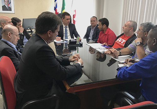 Governo, Embasa e Cerb voltam às negociações. Nesta sexta tem nova reunião