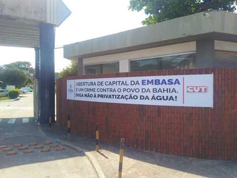 Abertura de capital da Embasa poderá acabar com escritórios locais e gerar prejuízo de 3 bilhões em cinco anos