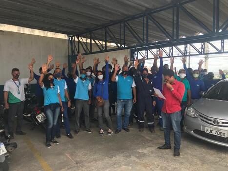 Trabalhadores (as) do SAAE de Alagoinhas aprovam proposta da GIP